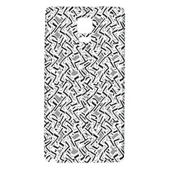 Wavy Intricate Seamless Pattern Design Galaxy Note 4 Back Case