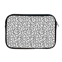 Wavy Intricate Seamless Pattern Design Apple Macbook Pro 17  Zipper Case