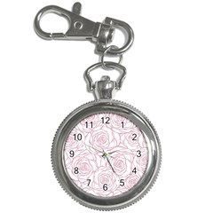 Pink Peonies Key Chain Watches