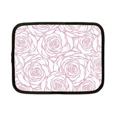 Pink Peonies Netbook Case (small)