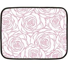 Pink Peonies Double Sided Fleece Blanket (mini)