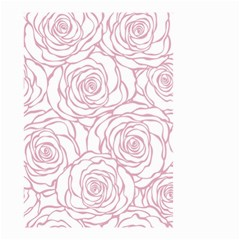 Pink Peonies Small Garden Flag (two Sides)