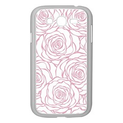 Pink Peonies Samsung Galaxy Grand Duos I9082 Case (white)