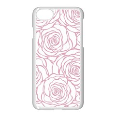 Pink Peonies Apple Iphone 7 Seamless Case (white)