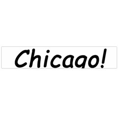 I Heart Chicago  Flano Scarf (large)