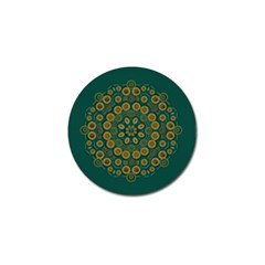 Snow Flower In A Calm Place Of Eternity And Peace Golf Ball Marker