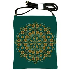 Snow Flower In A Calm Place Of Eternity And Peace Shoulder Sling Bags