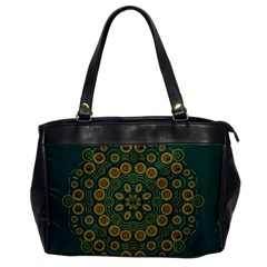 Snow Flower In A Calm Place Of Eternity And Peace Office Handbags