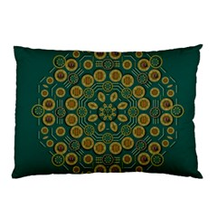 Snow Flower In A Calm Place Of Eternity And Peace Pillow Case (two Sides)