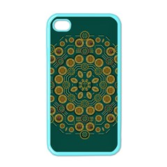 Snow Flower In A Calm Place Of Eternity And Peace Apple Iphone 4 Case (color)