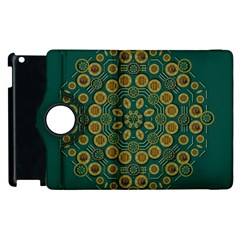 Snow Flower In A Calm Place Of Eternity And Peace Apple Ipad 2 Flip 360 Case