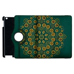 Snow Flower In A Calm Place Of Eternity And Peace Apple Ipad 3/4 Flip 360 Case