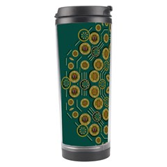 Snow Flower In A Calm Place Of Eternity And Peace Travel Tumbler
