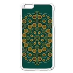 Snow Flower In A Calm Place Of Eternity And Peace Apple Iphone 6 Plus/6s Plus Enamel White Case