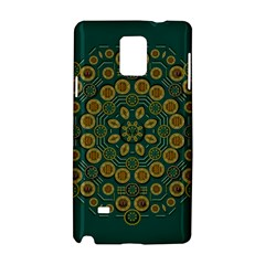 Snow Flower In A Calm Place Of Eternity And Peace Samsung Galaxy Note 4 Hardshell Case