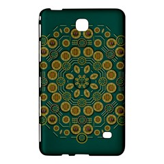 Snow Flower In A Calm Place Of Eternity And Peace Samsung Galaxy Tab 4 (7 ) Hardshell Case