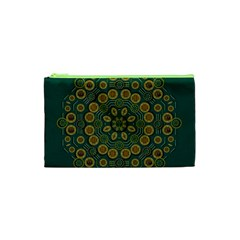Snow Flower In A Calm Place Of Eternity And Peace Cosmetic Bag (xs)