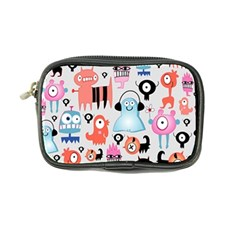 Funky Monsters Pattern Coin Purse