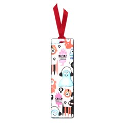Funky Monsters Pattern Small Book Marks