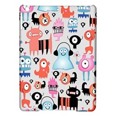 Funky Monsters Pattern Ipad Air Hardshell Cases