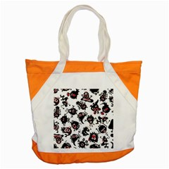 Goofy Monsters Pattern  Accent Tote Bag