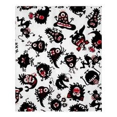Goofy Monsters Pattern  Shower Curtain 60  X 72  (medium)