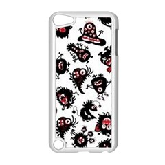 Goofy Monsters Pattern  Apple Ipod Touch 5 Case (white)