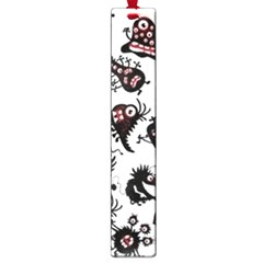 Goofy Monsters Pattern  Large Book Marks