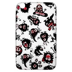 Goofy Monsters Pattern  Samsung Galaxy Tab 3 (8 ) T3100 Hardshell Case