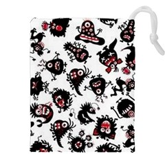 Goofy Monsters Pattern  Drawstring Pouches (xxl)
