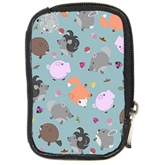 Little Round Animal Friends Compact Camera Cases