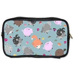 Little Round Animal Friends Toiletries Bags 2 Side