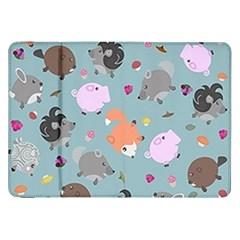 Little Round Animal Friends Samsung Galaxy Tab 8 9  P7300 Flip Case