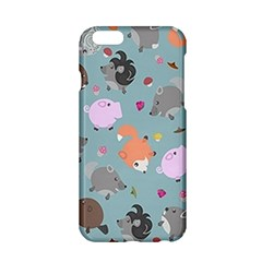Little Round Animal Friends Apple Iphone 6/6s Hardshell Case