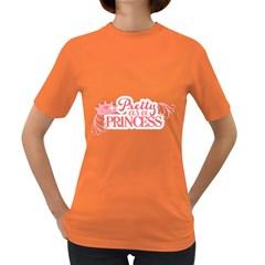 Pretty As A Princess Women s Dark T Shirt