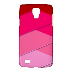 Geometric Shapes Magenta Pink Rose Galaxy S4 Active