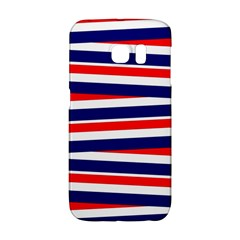 Red White Blue Patriotic Ribbons Galaxy S6 Edge