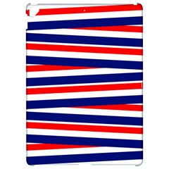 Red White Blue Patriotic Ribbons Apple Ipad Pro 12 9   Hardshell Case