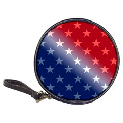 America Patriotic Red White Blue Classic 20 Cd Wallets