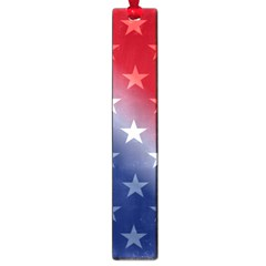 America Patriotic Red White Blue Large Book Marks