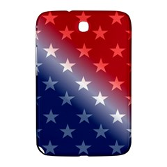 America Patriotic Red White Blue Samsung Galaxy Note 8 0 N5100 Hardshell Case