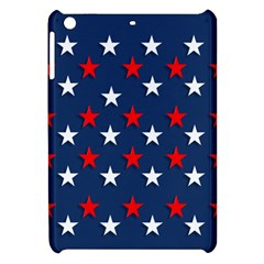 Patriotic Colors America Usa Red Apple Ipad Mini Hardshell Case