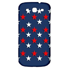 Patriotic Colors America Usa Red Samsung Galaxy S3 S Iii Classic Hardshell Back Case