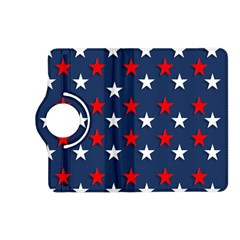 Patriotic Colors America Usa Red Kindle Fire Hd (2013) Flip 360 Case