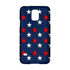 Patriotic Colors America Usa Red Samsung Galaxy S5 Hardshell Case