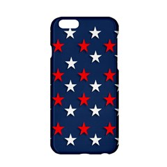 Patriotic Colors America Usa Red Apple Iphone 6/6s Hardshell Case
