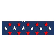 Patriotic Colors America Usa Red Satin Scarf (oblong)