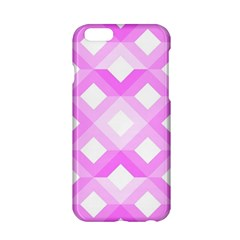 Geometric Chevrons Angles Pink Apple Iphone 6/6s Hardshell Case
