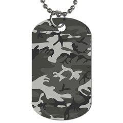 Camouflage Pattern Disguise Army Dog Tag (two Sides)
