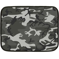 Camouflage Pattern Disguise Army Double Sided Fleece Blanket (mini)
